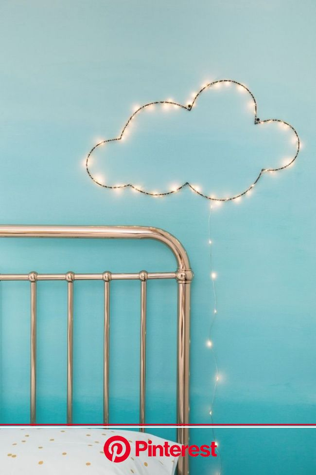 17 Twinkly Ways to Light Up Your Home With Christmas Fairy Lights | Fairy lights diy, Christmas fairy lights, Diy clouds