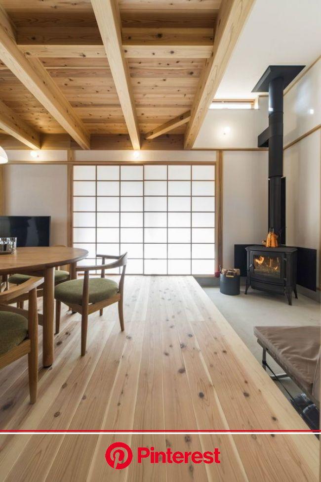 薪ストーブの実例【ミヤワキホーム】 | 和風の家の設計, 家, 障子