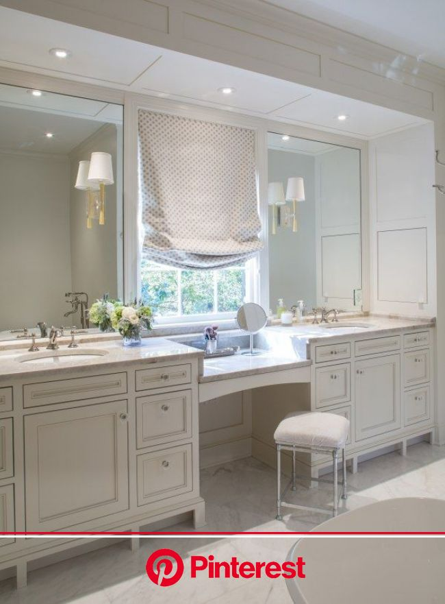 Careful Planning Results in a Gorgeous East Memphis Home   Master bathroom vanity, Bathrooms remodel, Master bath remodel
