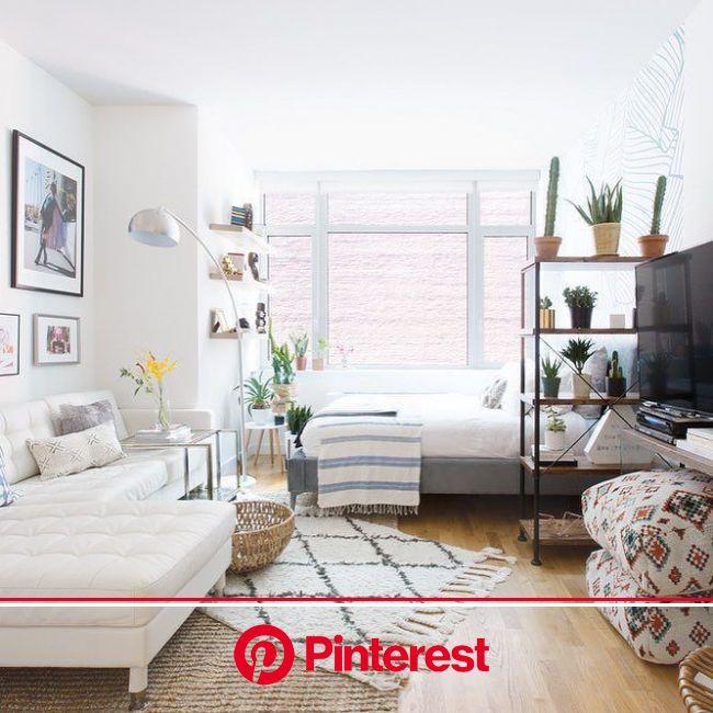 37+ An Elegant Studio Apartment Ideas [with pictures] – 2019 - Apartment Diy   Studio apartment living, Studio apartment decorating, Studio apartment