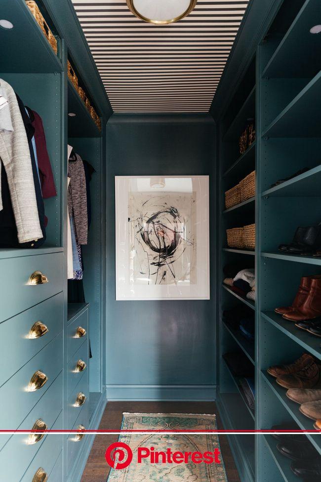 Goodbye Gray, Hello Earth Tones: Our 2020 Paint Color Forecast   Walk in closet ikea, Closet makeover, Closet design