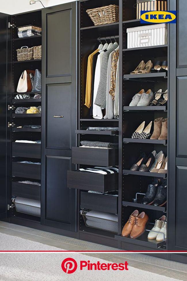 Bedroom Storage - Closet Systems & Storage Ideas   Closet designs, Dressing room design, Storage solutions bedroom